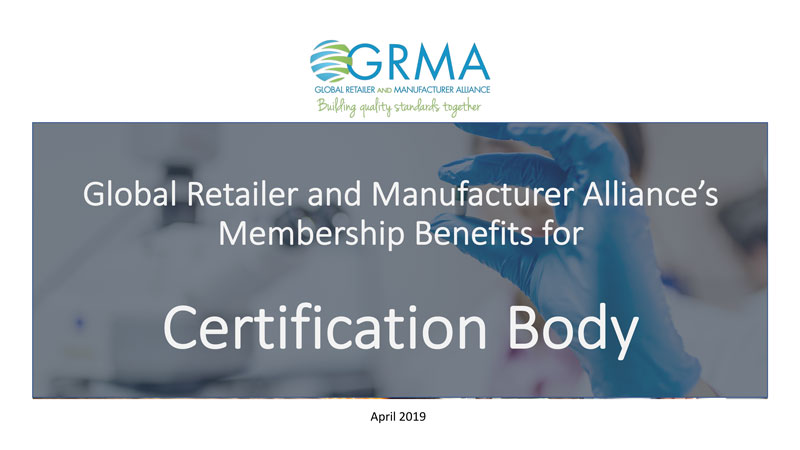 GMP Standards Certification Body